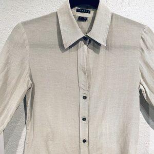 Theory Larissa shirt size TP